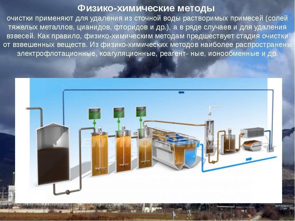 Очистка сточных вод биохимическими методами