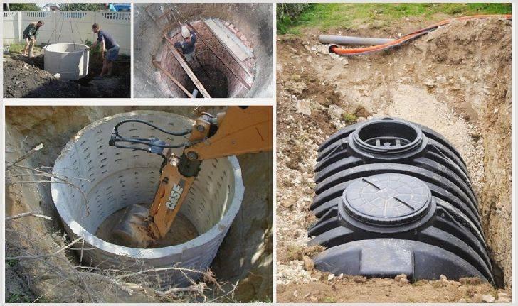 Как убрать грунтовые воды из выгребной ямы, причины появления вод
