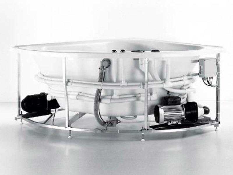 Установка ванны джакузи своими руками   дом мечты