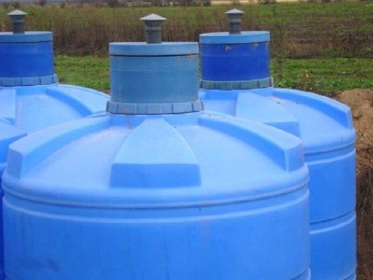 Накопительная емкость для канализации - виды и особенности
