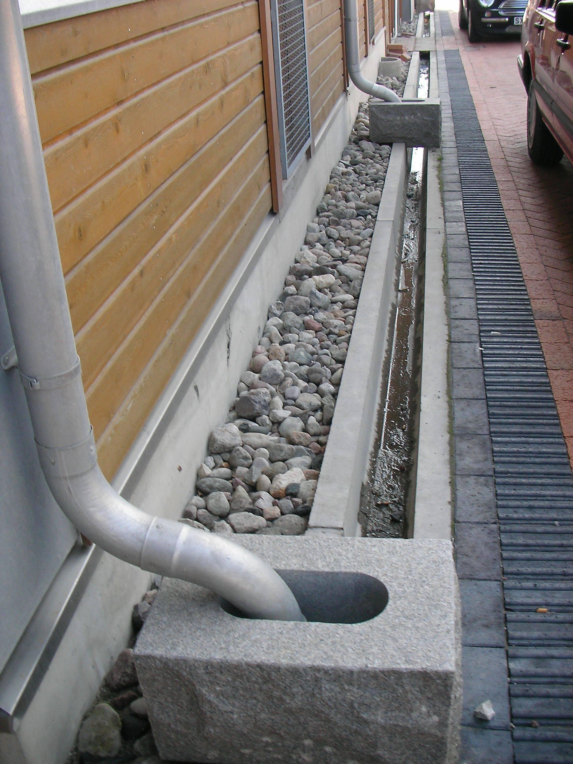 Особенности дождеприемников для ливневой канализации