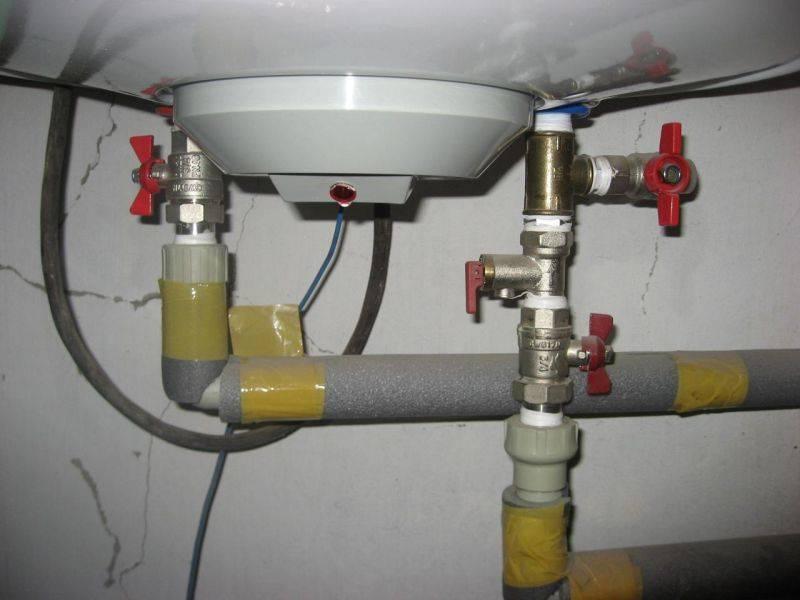 Как отключить бойлер на зиму или при подаче горячей воды