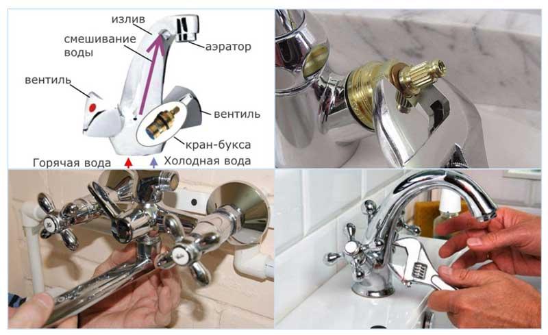 Как починить кран на кухне: устраняем своими руками течь и другие неисправности смесителя