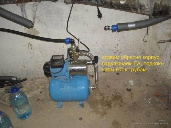 Почему не закачивает воду насосная станция - все о канализации