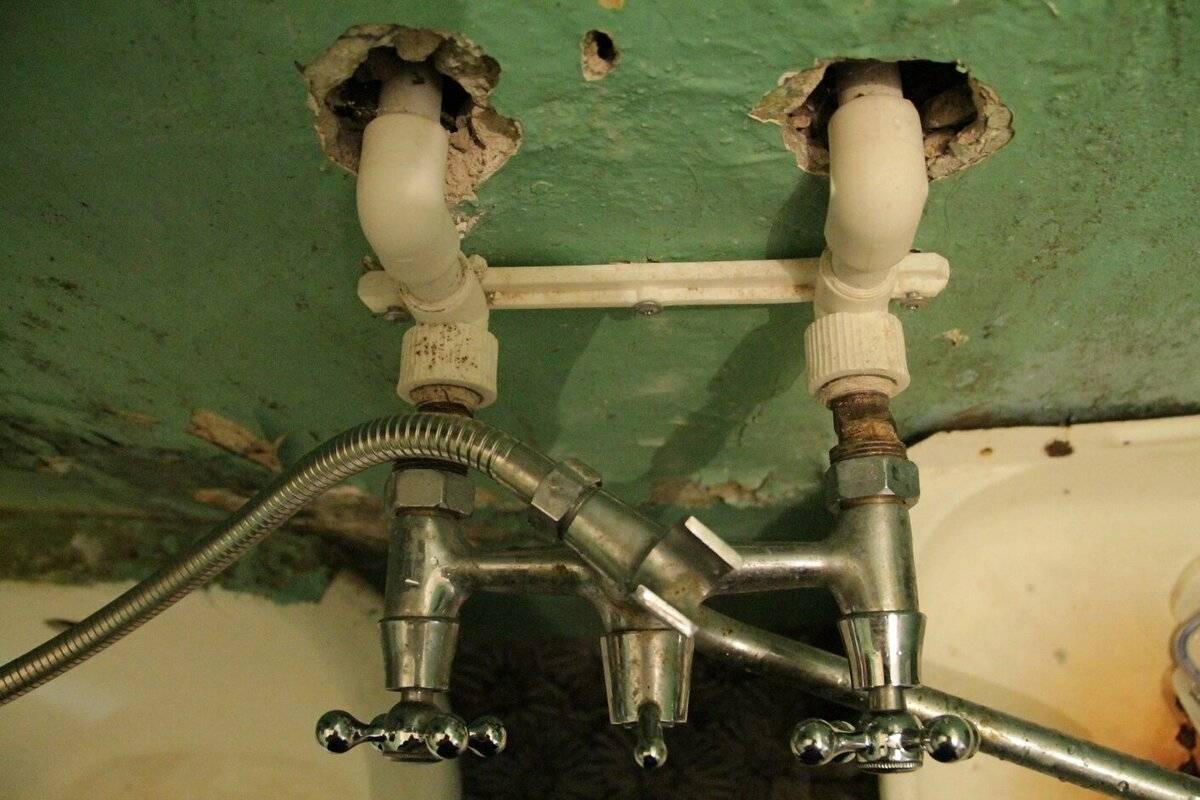 Как разобрать однорычажный смеситель (кран) в ванной – инструкция, видео