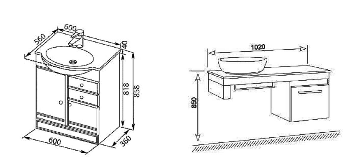 Установка раковины в ванной: как установить своими руками (+ видео)