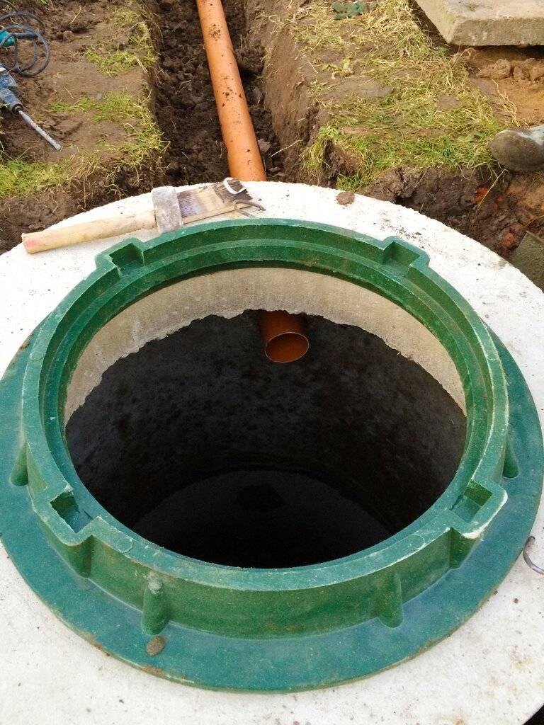Устройство дренажного колодца для ливневой канализации своими руками