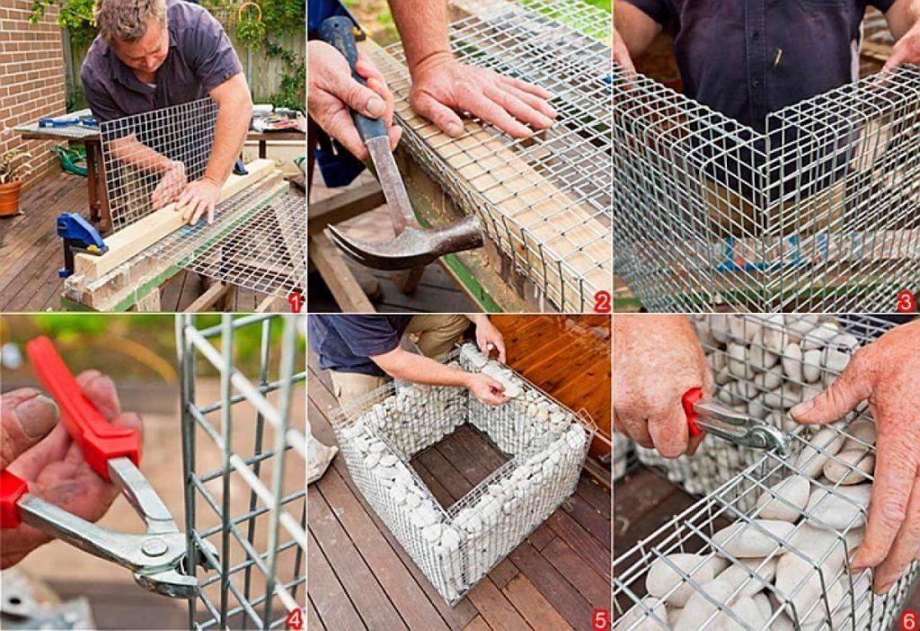 Габионы своими руками пошаговая инструкция по изготовлению
