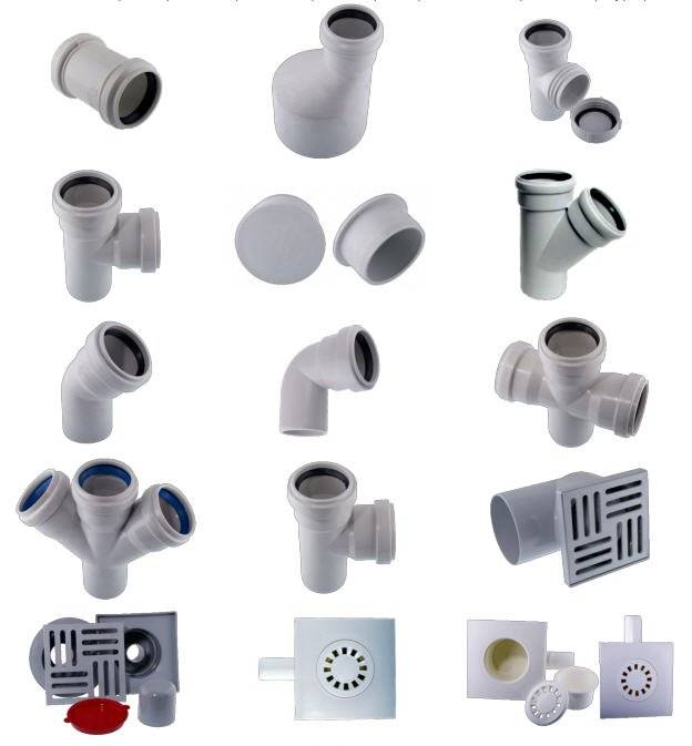 Каталог канализационных труб пвх и фитингов