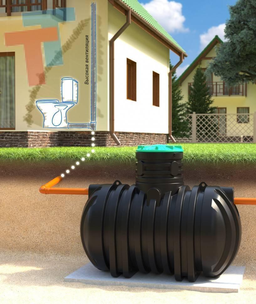 Строительство бытовой канализации