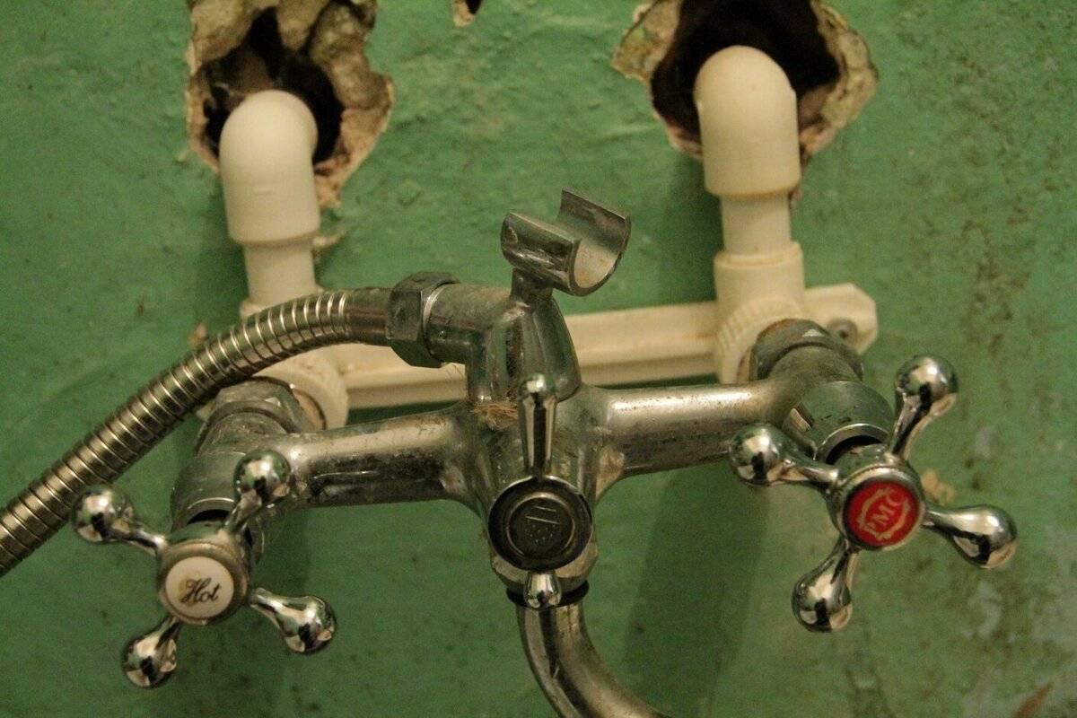 Замена смесителя в ванной своими руками - все о канализации