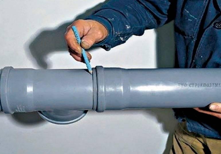 Как соединить канализационные пластиковые трубы видео