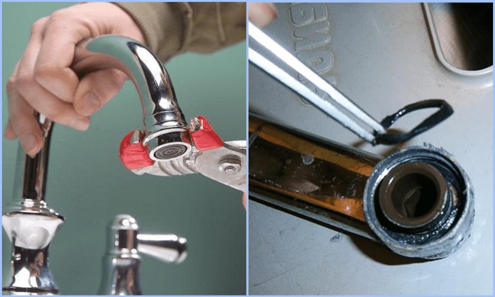 Как делается ремонт шарового смесителя