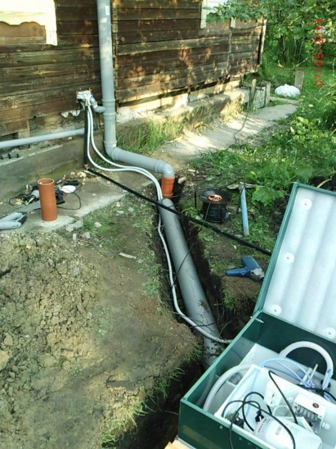 Как своими руками сделать канализацию на даче: правильная схема и работы по установке