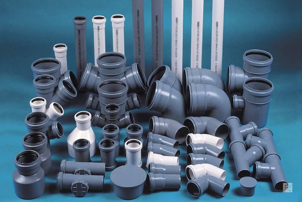 Пластиковые трубы для канализации - виды и размеры