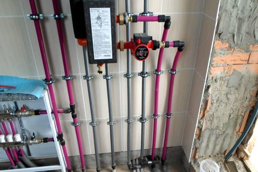 Виды труб и фитингов из сшитого полиэтилена рехау от отопления до водоснабжения