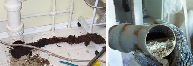Как прочистить засор в трубе в ванной — способы и средства