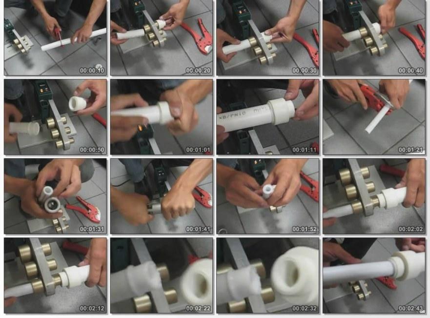 Пайка полипропиленовых труб: инструкция по трем методам