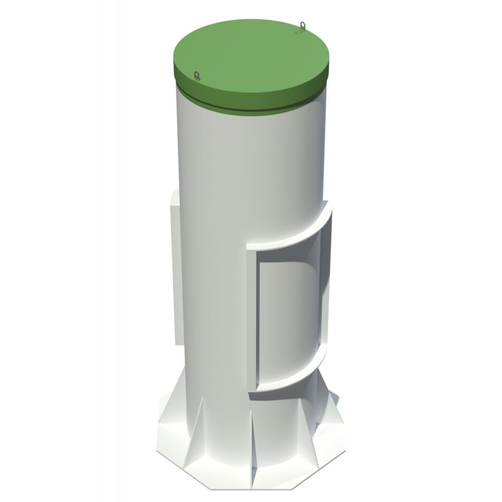 Септик тополь-8 (пр, long, long пр)
