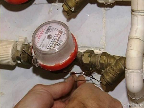 Опломбировка счетчиков воды - что это такое, как правильно провести процедуру самостоятельно, что будет, если не делать установку, а также, какой штраф за срыв