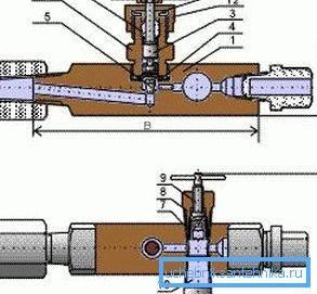 Игольчатый кран для отопления высокого давления, игольчатый вентиль из нержавеющей стали