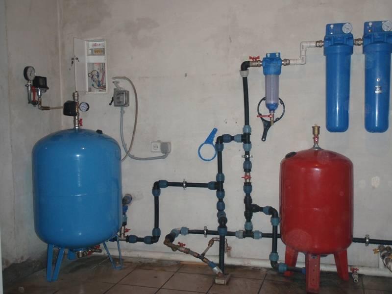 Давление в расширительном бачке водоснабжения - от теории до практики регулировки