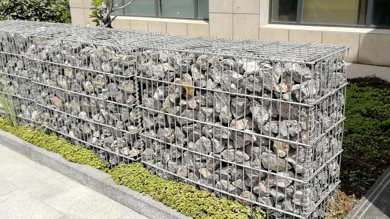 Забор из сетки и камней – как собрать габион самому
