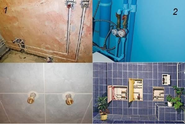 Как закрыть трубы в туалете: пошаговая инструкция с фото