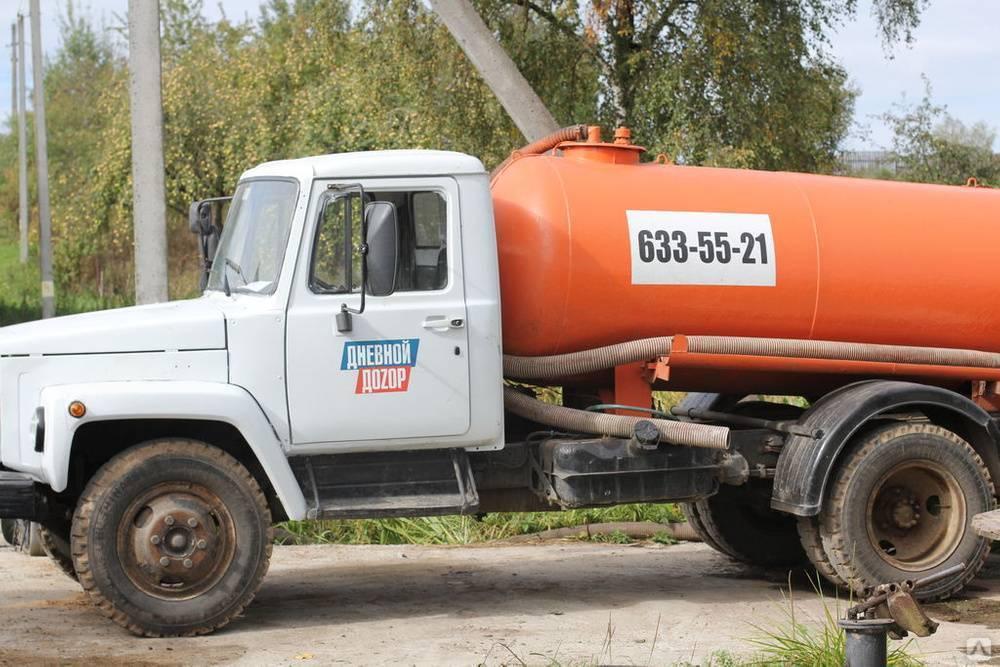Машина для откачки канализации как называется? - gidkanal