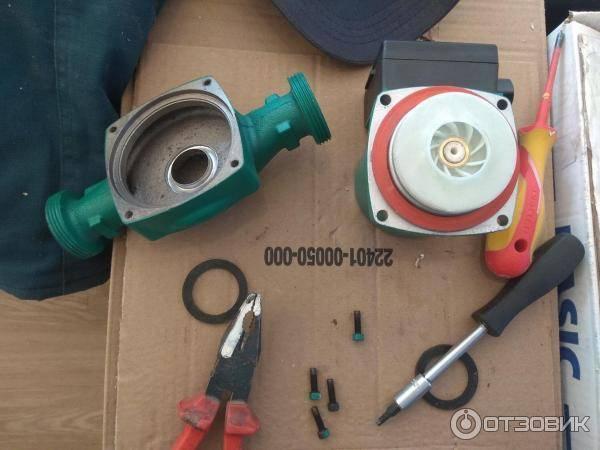 Механизм начал «капризничать»? пора на ремонт: как разобрать циркуляционный насос отопления своими руками