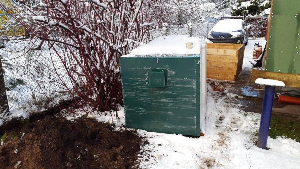Септик зимой, консервация, что делать если замерзает септик?