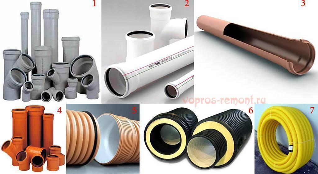 Монтаж пластиковой канализации в частном доме или квартире своими руками