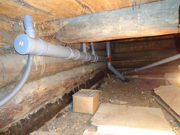 Чем загерметизировать канализационную трубу и стыки