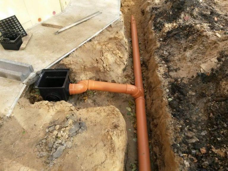 Виды ливневых систем водоотведения и их установка канализации своими руками +Фото и Видео