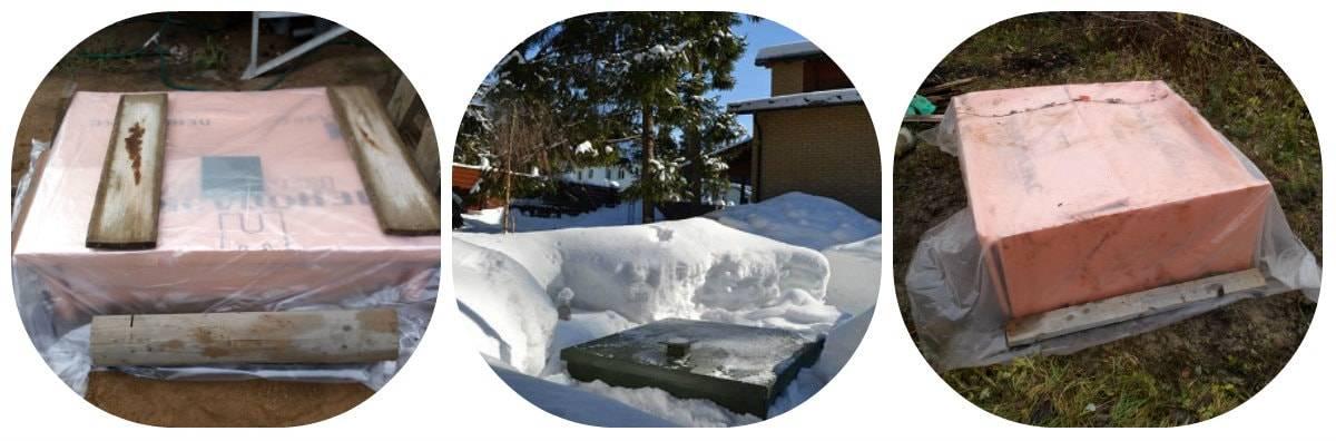 Как утеплить септик на зиму? утепление автономной канализации: полезная информация.