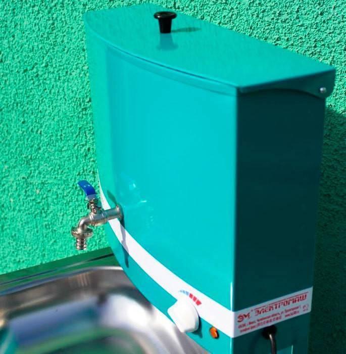 Умывальник с водонагревателем для дачи своими руками - самстрой - строительство, дизайн, архитектура.