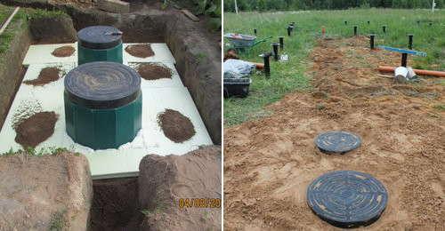 Септик термит – локальное сооружение для обслуживания загородного дома без откачек и запаха