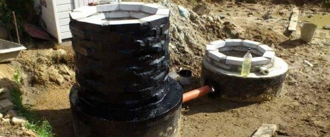 Гидроизоляция колодца из бетонных колец: герметизация изнутри и заделка швов