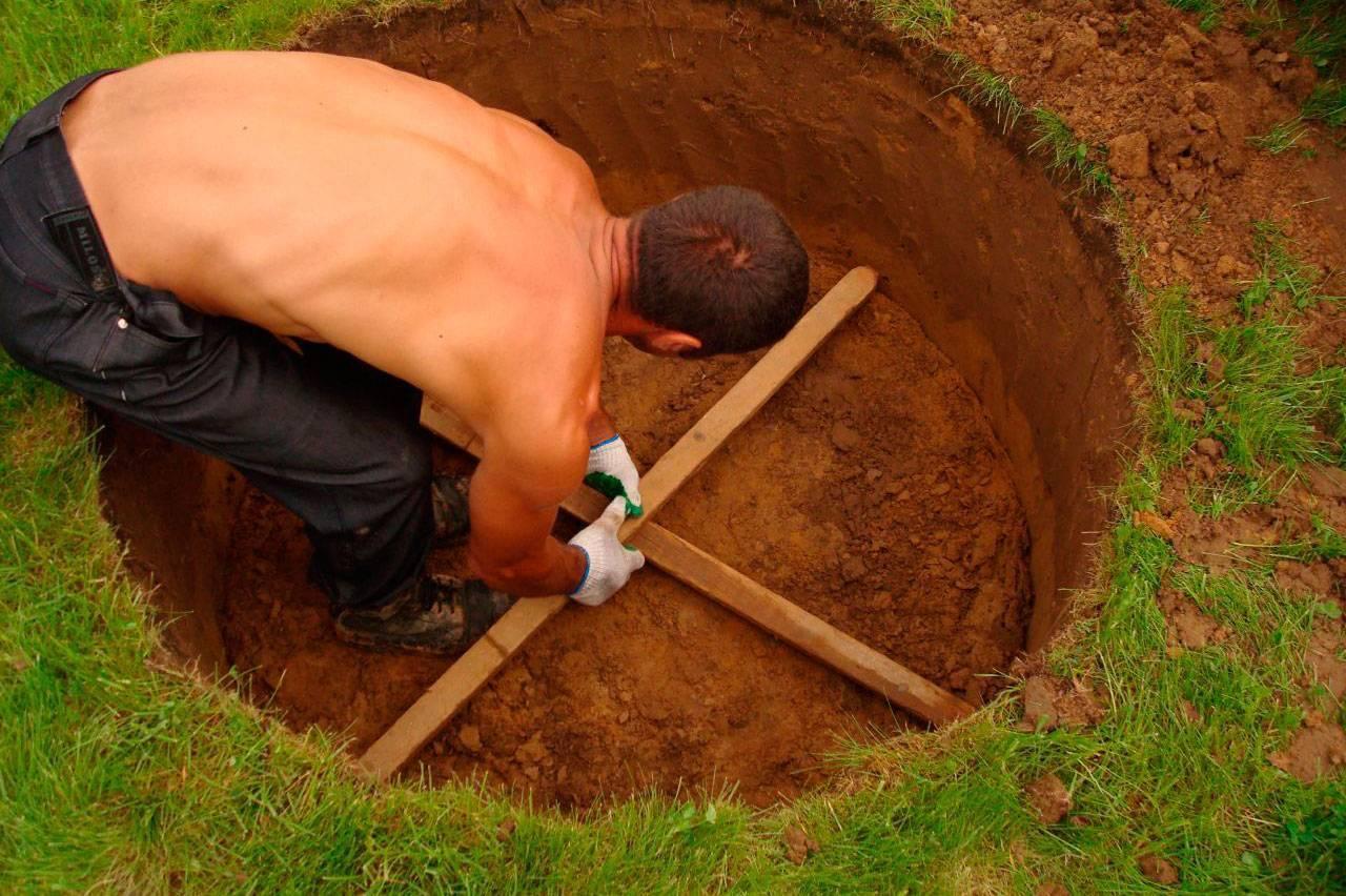 Как выкопать колодец своими руками: установка колец и фильтра для воды