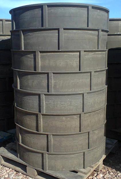 Кольца для выгребной ямы — как сделать самому кольца из бетона и пластика