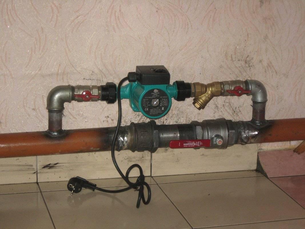 Установка насоса в систему отопления частного дома: как правильно установить, поставить, монтаж, как подключить циркуляционный насос