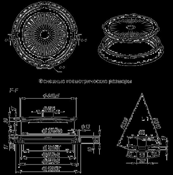 Декор септиков и канализационных люков:разновидности,фото,видео
