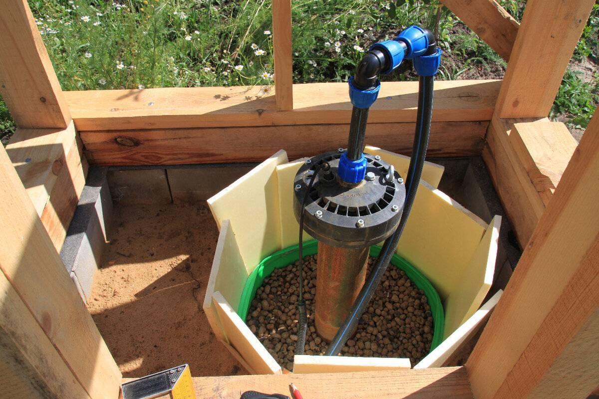 Обустройство скважины на воду своими руками: принцип бурения