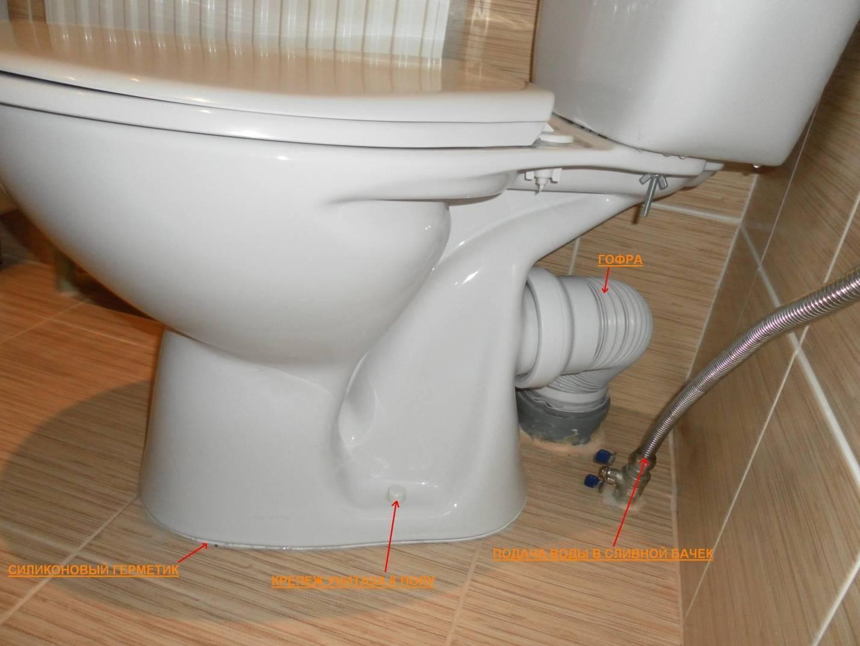 Унитаз как установить - все о канализации
