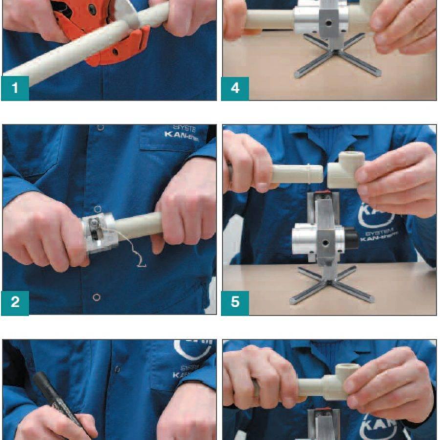 Как правильно паять полипропиленовые трубы и при какой температуре