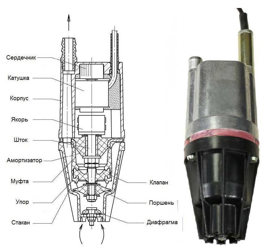 Ремонт насоса «водолей» - основные неисправности, разборка и ремонт