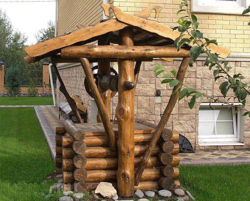 Постройка колодца на даче своими руками