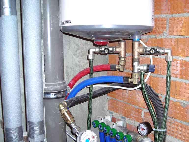 Подключение накопительного водонагревателя: схемы, порядок монтажа