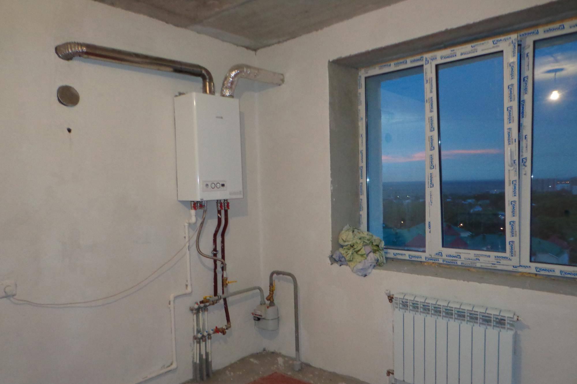 Как сделать индивидуальное отопление в квартире – пошаговое руководство