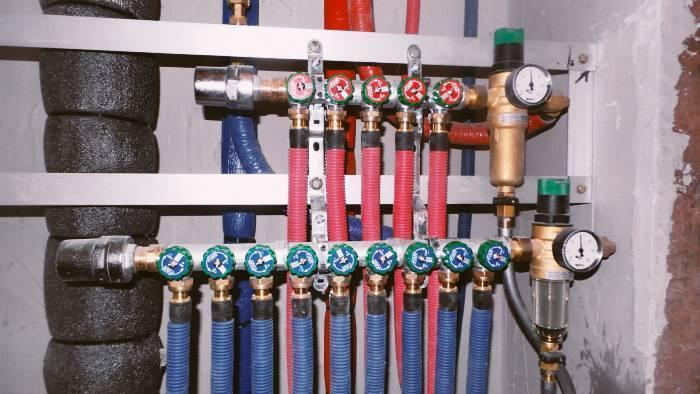 Коллекторная система водоснабжения в квартире - всё о сантехнике